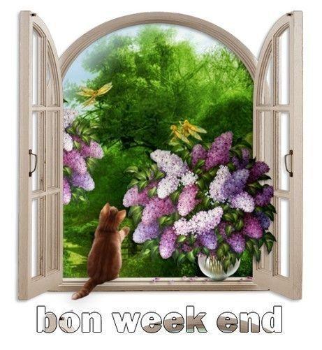 Bon week end à lundi