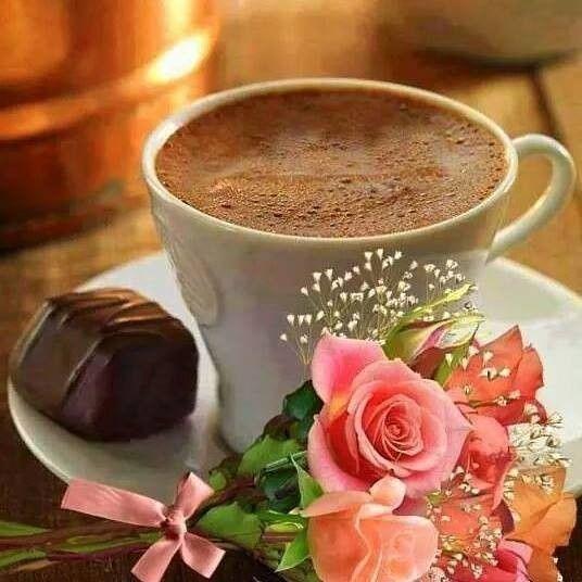 Caf? chocolat roses pour vous remercier