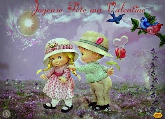 Joyeuse Fête ma Valentine