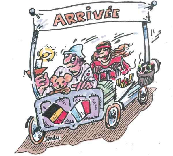 Bonne Fête à nos ami(e)s de Belgique